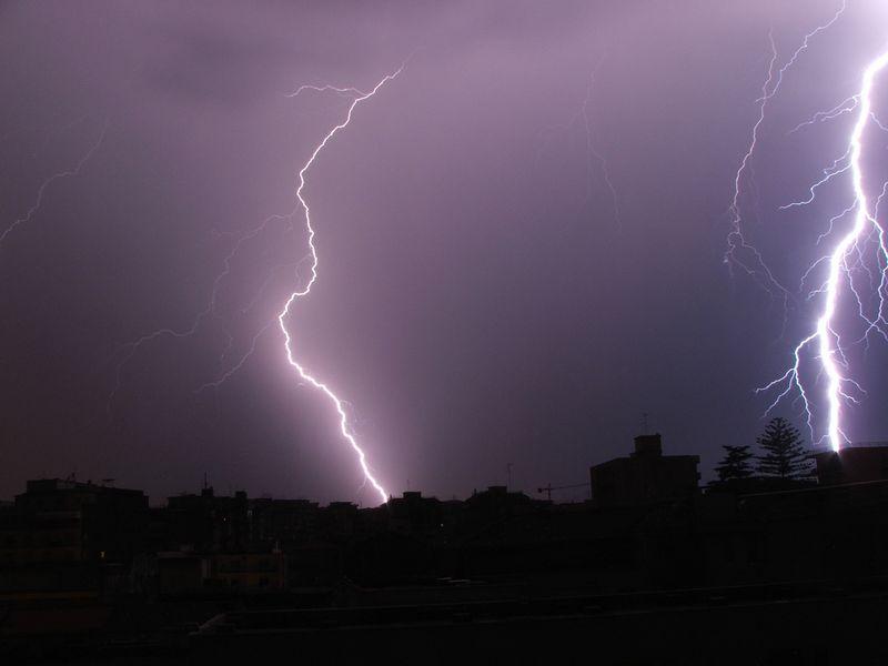 Allerta Meteo: temporali in giornata
