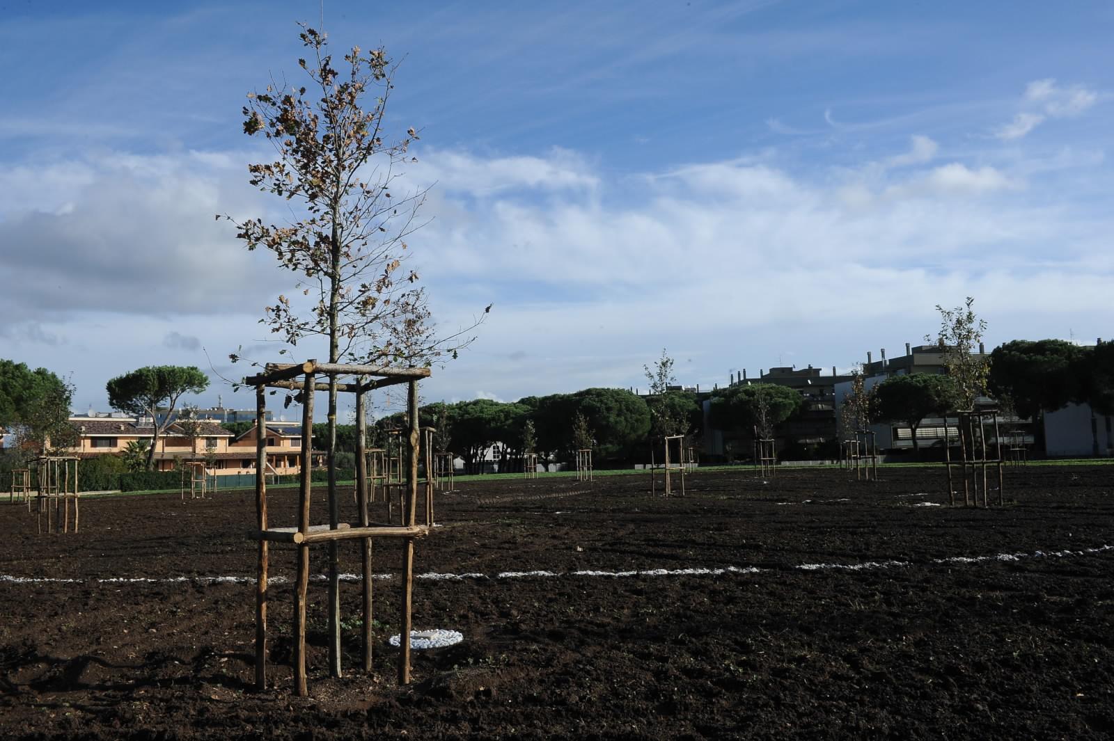 Giardino della Giustizia alla Romanina: parte la riqualificazione